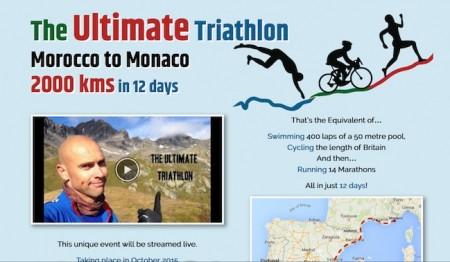 #132, Luke Tyburski, The Ultimate Triathlon: Moroccoo to Monaco