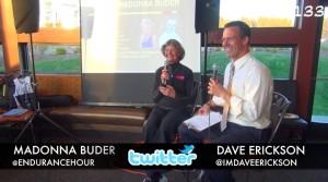 Sister Madonna Buder with Dave Erickson, Endurance Hour #133