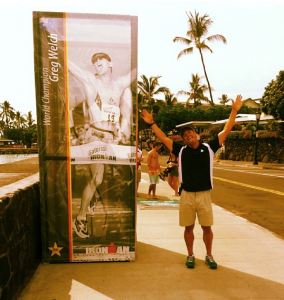 Ali'i Drive with 1994 Ironman World Champion, Greg Welch