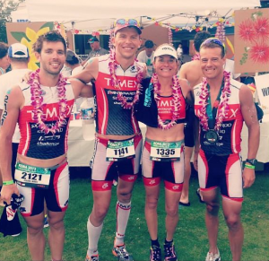 Timex Multisport Team at 2013 Ironman World Championship (Sub-10 hour club)