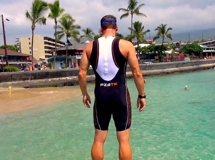 Blueseventy PZ3TX Triathlon Speed Suit, Dave Erickson, Timex